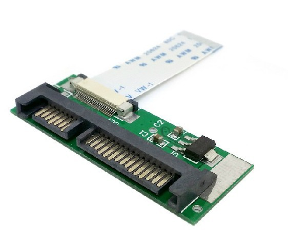 1.8 24pin SATA LIF HDD TO 2.5 22pin SATA serial port adapter card