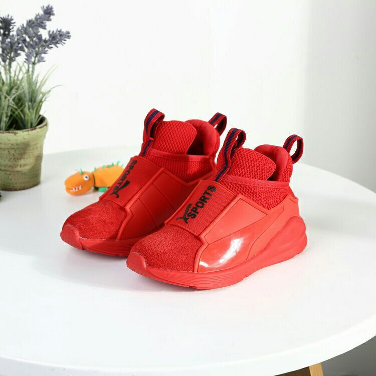2018 Children Sport Shoes Leather Boys Girls Sneakers High Quality Solid Black Red Flat Comfortable Kids Sneakers Casual Shoes2018 Children Sport Shoes Leather Boys Girls Sneakers High Quality Solid Black Red Flat Comfortable Kids Sneakers Casual Shoes
