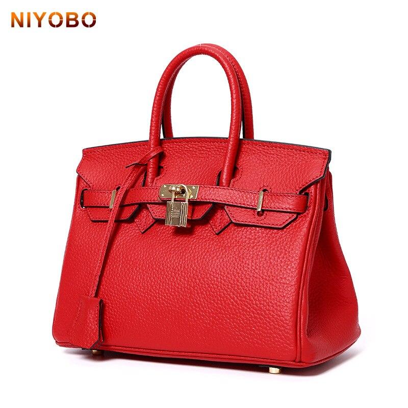 2018 New Women Bags Fashion Designer Handbags High Quality Genuine Leather Ladies Tote Bags PT1112