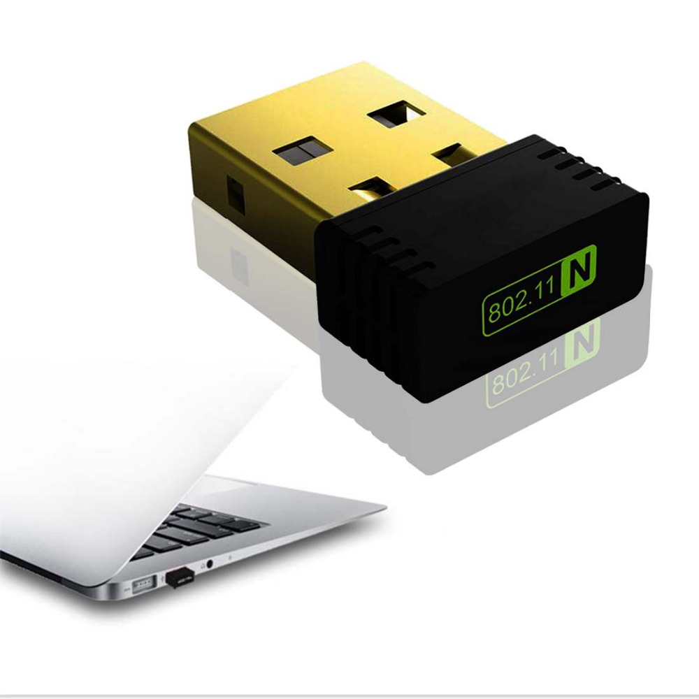Etmakit Practical Mini USB WiFi Wireless LAN 802 11 n g b Adapter Nano Network Powerful 150Mbps Wireless Network Card in Network Cards from Computer Office