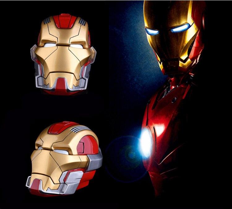 Iron Man Funny Ashtray-Figure-Model The Avengers Kids Super-Hero Toy Piggy-Bank Gift