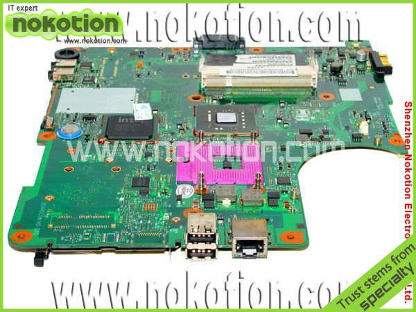 ФОТО V000138330 Laptop Motherboard for Toshiba Satellite L300 DDR2 Full tested Mainboard free shipping