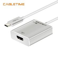 Cabletime USB C HDMI Adapter Type C 3.1 to HDMI 4K 60Hz Converter For Macbook HDTV Samsung Galaxy S9/S8 Note 9 Huawei N125