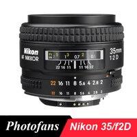 Nikon 35/2 d lens af nikkor 35mm f/2d lens voor d80 D90 D7200 D7100 D300 D500 Df D610 D750 D700 D800 D810 D3 D4 D5