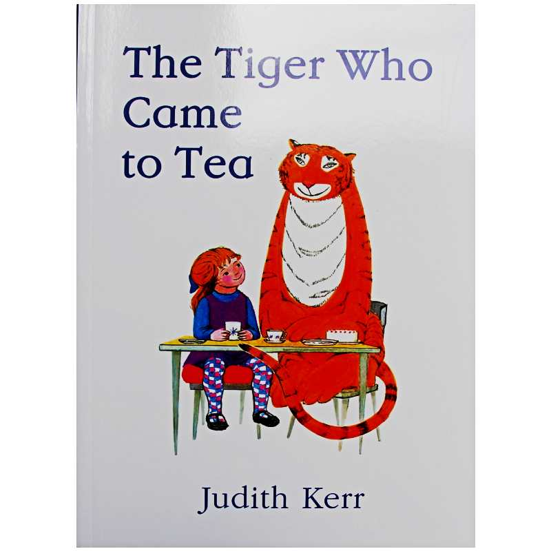 The Tiger Who Came to Tea By Judith Kerr Educational English Picture Book Learning Card Story Book For Baby Kids Children GiftsThe Tiger Who Came to Tea By Judith Kerr Educational English Picture Book Learning Card Story Book For Baby Kids Children Gifts