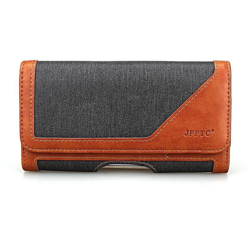 Horizontal cinturón Clip caso funda bolsa con ranuras de tarjeta para Samsung Galaxy Note 8/S8 + PLus