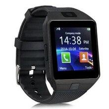 2017 Más Reciente MTK6261 DZ09 Reloj Inteligente Para Android Reloj Teléfono apoyo Whatsapp Facebook SD SIM Con Cámara U8 Podómetro pk U9