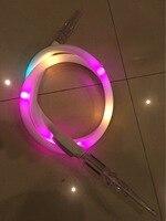 Moda abbagliante LED Luminoso Colorato Narguile Narghilè Shisha Tubo Tubo Accessori per il Fumo di Tabacco Weed Erba