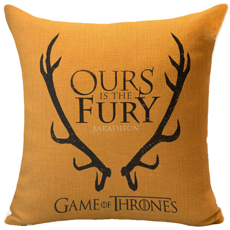 Game Of Thrones Totem Abzeichen Muster Kissenbezuge Sessel Chat