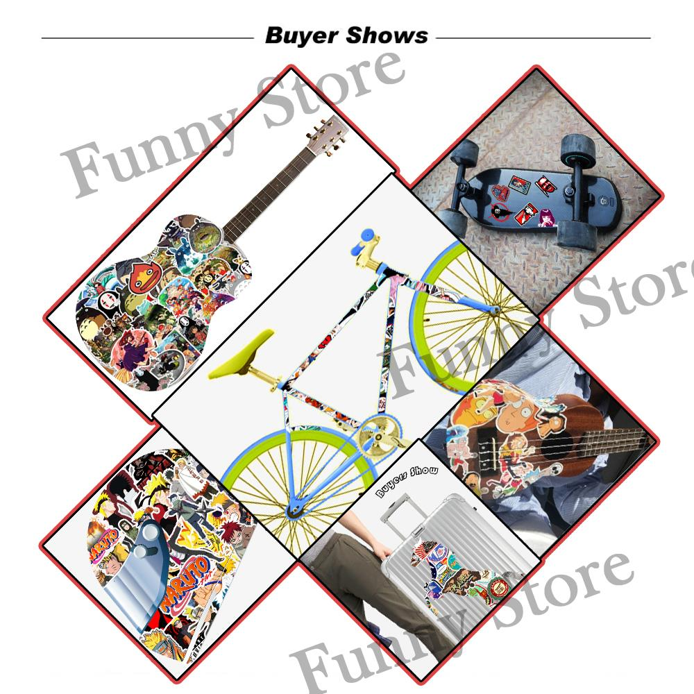 50pcs Pack American Hot Anime The Simpsons Stickers Cartoon Toy Stickers For Laptop Luggage Pad Phone Skateboard Kids Gifts in Stickers from Toys Hobbies