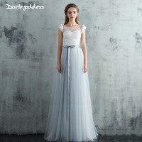 Darlingoddess Robe de Mariage Sexy See Through Lace Vintage Beach Wedding Dress Boho Short Sleeve Wedding Gowns Vestido de Noiva