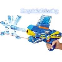 Kid Toy Guns Paintball Gun Soft Bullet Gun Plastic Toys Infrared CS Game Shooting Crystal Water