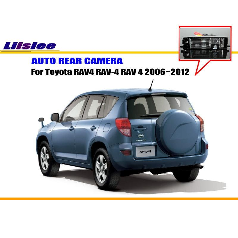 Liislee Car Rearview Camera For Toyota RAV4 RAV-4 RAV 4 2006~2012 - on