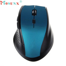 Good sale monsunx Rapoo 2.4GHz Wireless 6D 2000 DPI Optical Gaming Mouse Mice For Computer PC Laptop Free shipping