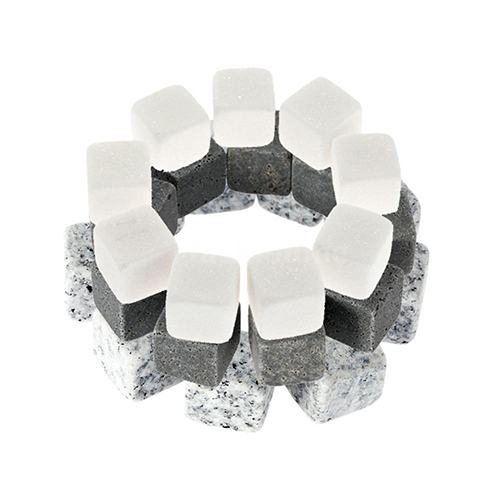 9 Pcs Wine Whisky Ice Stones Drinks Chilling Cooler Cubes Summer Beer Rocks