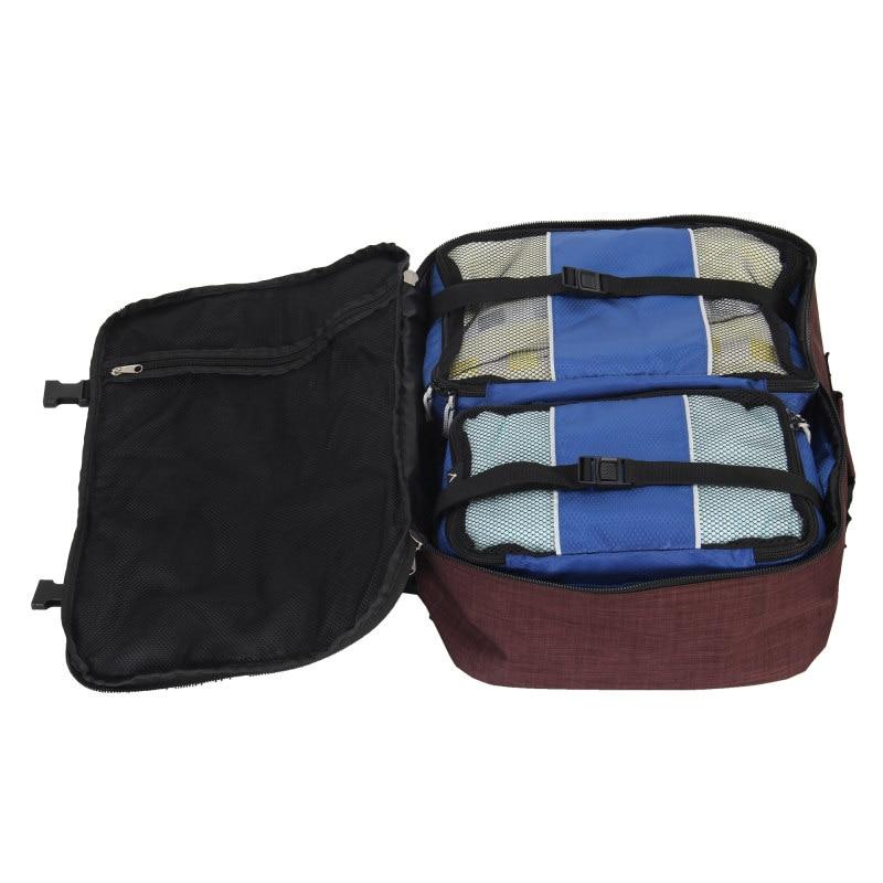 M272 Vintage Canvas Lederen Rugzakken voor Mannen Laptop Daypacks Waterdichte Canvas Rugzakken Grote Waxed Bergbeklimmen Travel Pack - 4