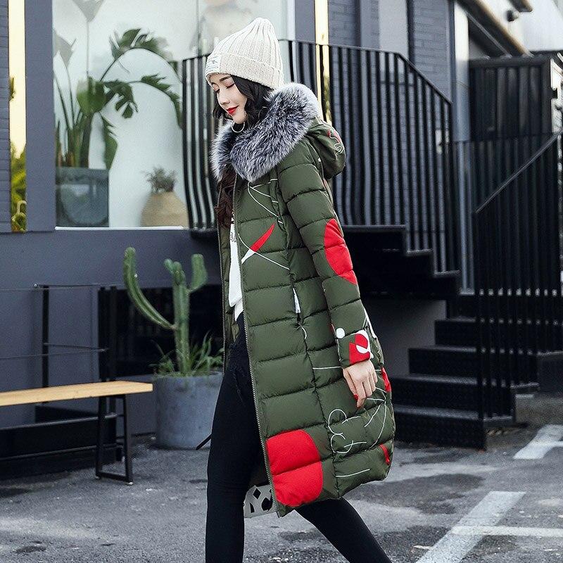 Épais Femme D'hiver Collection army New vert Femmes Manteau Aaa rouge multi Hiver Capuche Haute 2018new gris Green Avec ardoisé bleu Noir Parkas Veste Qualité Chaud wxZ6YOZ1qI