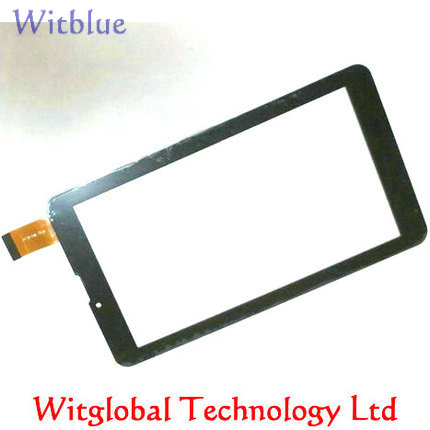 New touch screen Capacitive screen Panel Digitizer Glass Sensor Replacement For 7 inch Irbis TZ55 3G Tablet Free Shipping new capacitive touch screen digitizer cg70332a0 touch panel glass sensor replacement for 7 tablet free shipping