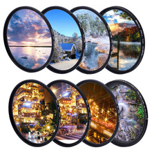 KnightX UV CPL ND Star Camera Lens variable Neutral Density Filter For canon sony nikon 49 52 55 58 62 67 77 mm colse up Macro zomei pro ultra slim mcuv 16 layer multi coated optical glass uv filter for canon nikon hoya sony lens dslr camera accessories