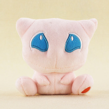 12cm Japanese Anime Cartoon Mew Plush Toy Stuffed Animals Plush Doll Gift for Kids