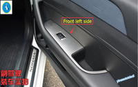 4 Pcs Set Chrome Sliver Interior Door Molding Cover Armrest Trim For Hyundai Sonata Sedan 2015