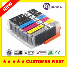 Compatible for PGI 550 PGI-550 CLI-551 PGI550 CLI551 ink cartridge  For Canon PIXMA MG6350 7150 7550 IP8750 etc.