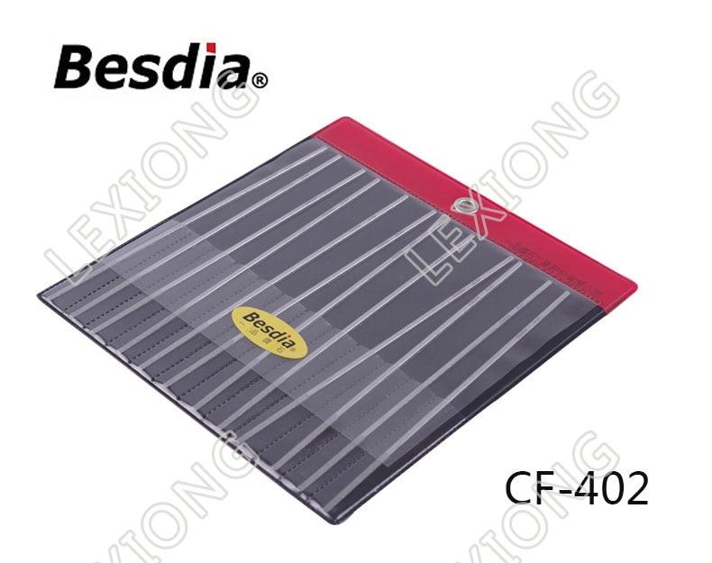 台湾BesdiaダイヤモンドフラットハンドファイルCF-400 - ハンドツール - 写真 2