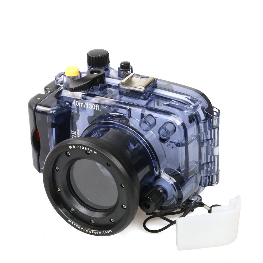 Image 5 - For Sony RX100 II 2 Mark II Camera Housing Case Underwater 40m Photogeraphy Waterproof Camera Bag Suitable for Swiming Surfing-in Sports Camcorder Cases from Consumer Electronics