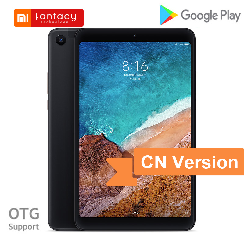Xiaomi Mi Pad 4 MiPad 4 Tablet 8 Inch Snapdragon 660 Octa Core 4GB 64GB 1920x1200 FHD 13.0MP+5.0MP AI Face ID Android Tablet