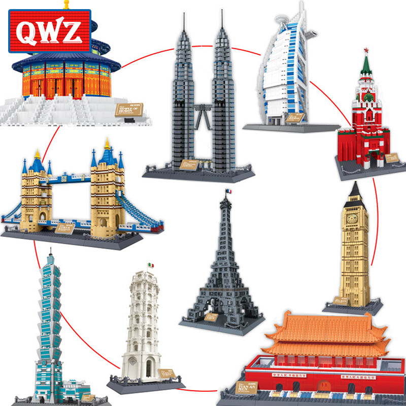 QWZ World's Great Architectures 11 Models