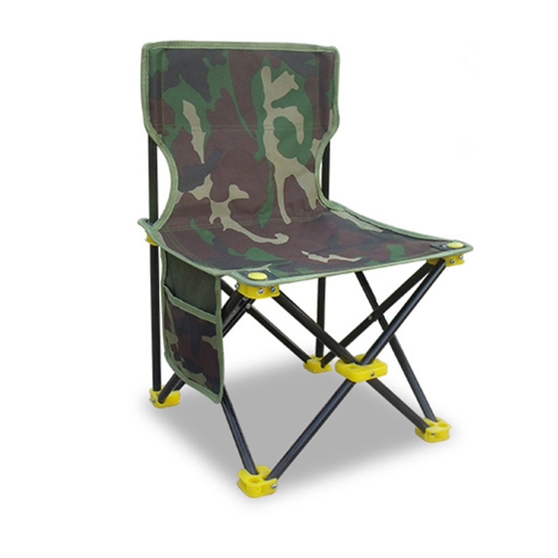 Fishing Gear Leisure Fishing Chair Folding Four-corner Chair Portable Fishing Chair Small Chair