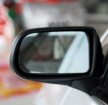 forFamilia 123 generation of large white Jinglan mirror anti glare rearview mirror mirror reflective lens fumeilai