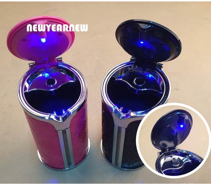 Colore Westeng 1 x Posacenere Portatile per Auto con Spegnimento Automatico di Sigarette Nero
