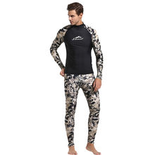 Perimedes Duiken Wetsuit 3mm Mannen Pesca Spearfishing Camouflage neopreen Mannen Scuba Dive Snorkel Badpak Split sport Suits # g45(China)