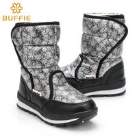 2016 New Princess Parent Child Winter Snow Boots Kids Mother Size Anti Skid Outsole Family Sets