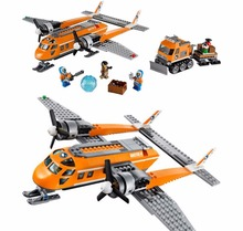 Urban Arctic Series Supply Plane Bricks Building Block Toys DIY Educational For Children Compatible All