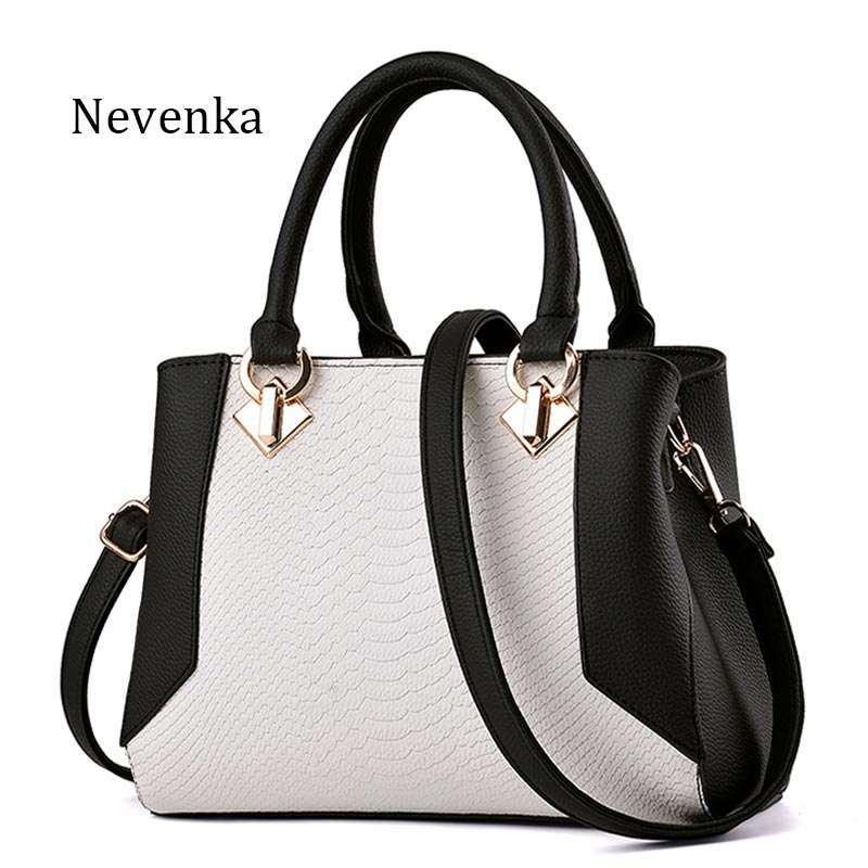 Nevenka Women Handbag PU Leather Bag Zipper Crossbody Bags Lady Bag High Quality Original Design Handbags Top-Handle Bags Tote fashionable women s tote bag with cover and pu leather design