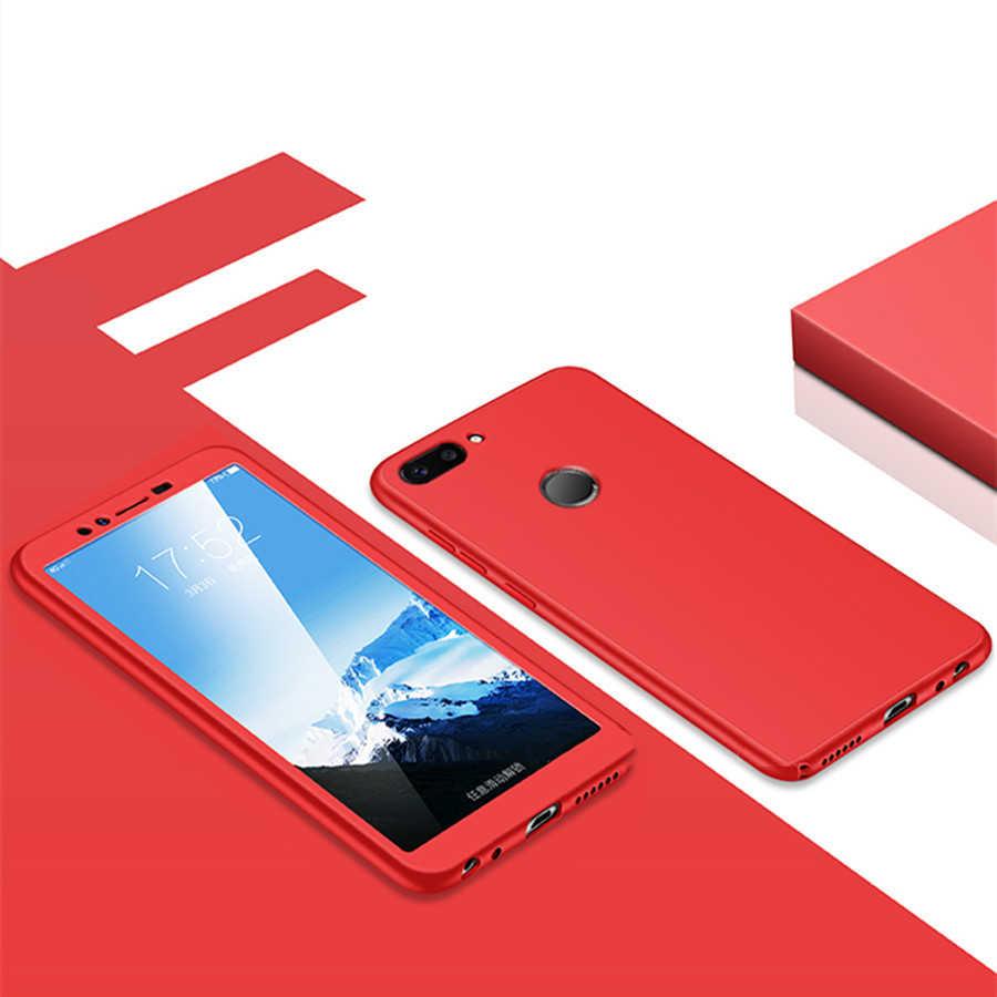 360 Full TPU Mềm Mại Matte Ốp Lưng Cho Huawei P20 P10 Lite Nova 3 4 3i Giao Phối 20 Pro Danh Dự 7A 7C 10 9 7X Y3 Y5 Y6 Thủ Y7 Y9 2018 Bao