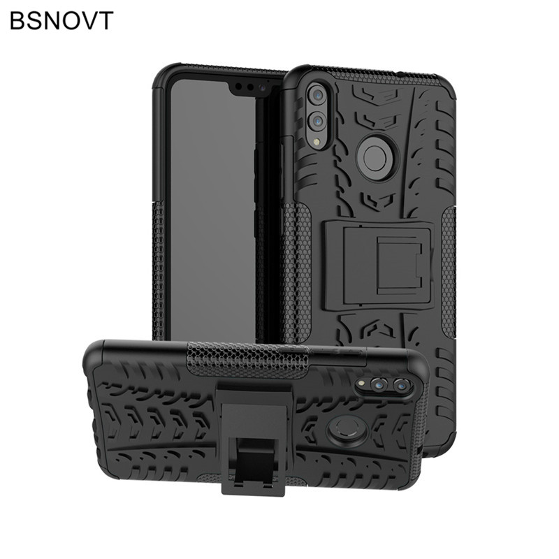 For Huawei Honor 8X Case Silicone Hard Bumper Anti-knock Phone Cover Funda BSNOVT