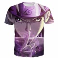Newest Style Cool Naruto t shirts tees Men Women Hipster 3D t shirt Anime tshirts Handsome Swag t-shirt Harajuku Tee Shirts