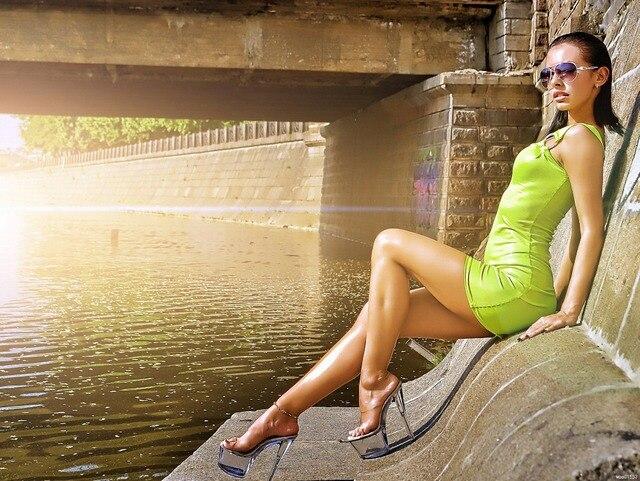 Dj Milana Hot Shiny Body Sexy Legs Art Huge Print Poster Txhome D