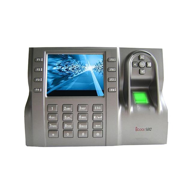 3.5TFT Screen Finger Print Attendance Biometric Time Attendance USB Reader Access Control Time Attendance Recorder Iclock580