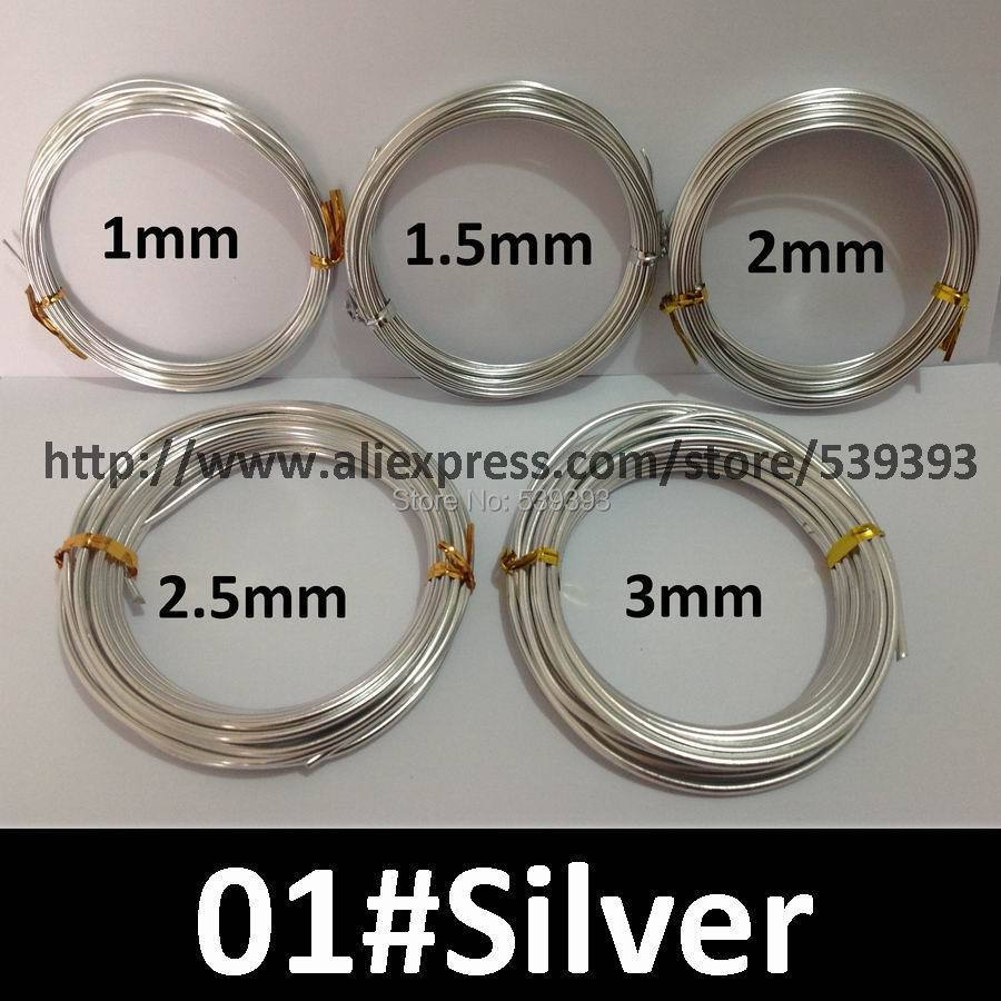 Wholesale 0.5kg Anodized Artistic Aluminum Craft Wire 2.5mm 10 Gauge ...