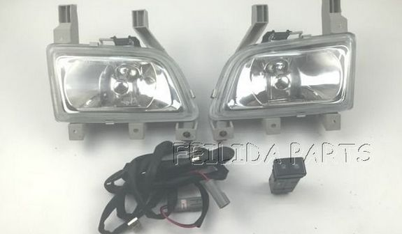 pair fog lamp with bulb + cable +switch for mazda 323 ... gm fog light wiring harness 2014 gmc sierra #9