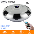 New arrival Mini VR IP Wifi Camera HD 960P 360 Degree Panoramic Network CCTV Security Camera IR Night Vision