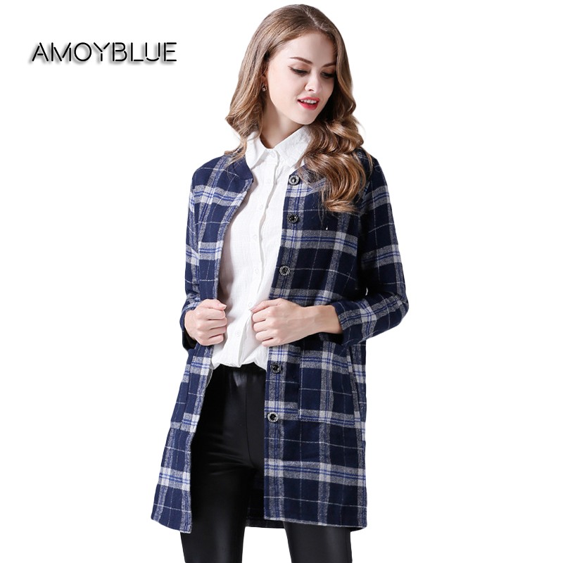 Red Checked Coat Promotion-Shop for Promotional Red Checked Coat ...