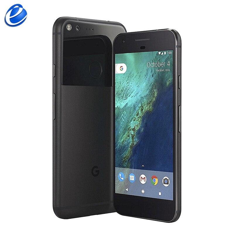 Original desbloqueado google pixel 5.0 xl xl/pixel xl 5.5 core inch polegada quad núcleo único sim 4g celular android 4 gb ram 32 gb rom smartphone