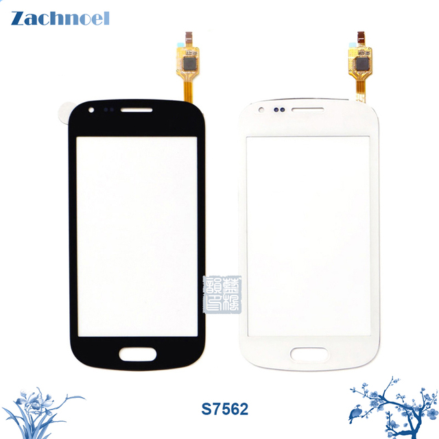 10pcs Touch Screen for Samsung Galaxy Trend S S7560 S7562 GT-S7562 Duos Digitizer Panel Sensor Lens Glass Replacement Parts