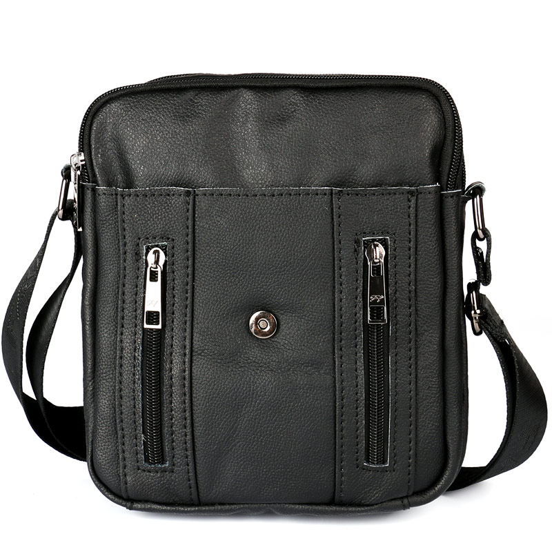 ruil moda qualidade superior de Gender : Genuine Leather Men Shoulder Bags