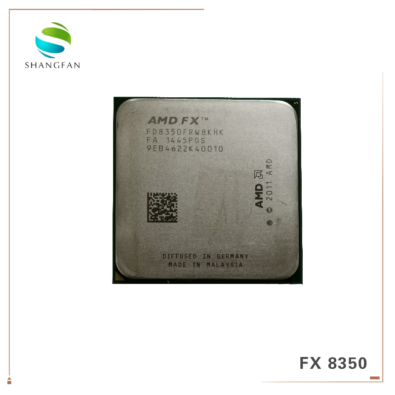 AMD FX Series FX 8350 FX8350 4 0G 125W FX 8350 FD8350FRW8KHK Eight CORE Socket AM3